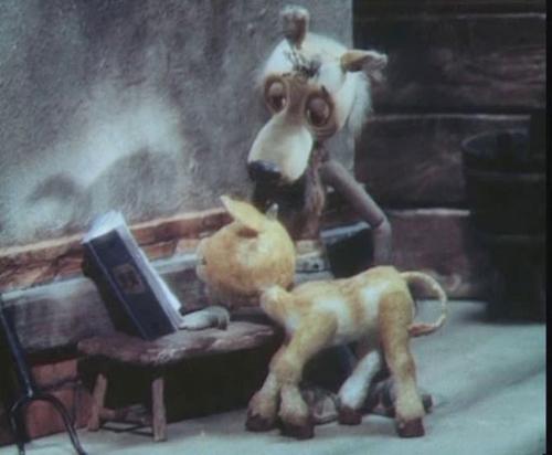 Волк и телёнок